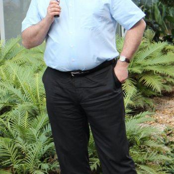 Ottmar Miles-Paul, der Rheinland-Pfälzische Behindertenbeauftragte vergleicht seine und unsere Arbeit mit dem Bohren dicker Bretter.